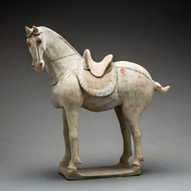 Tang Sculpture of a Horse