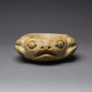 Costa Rican Stone Mortar in the form of a Frog