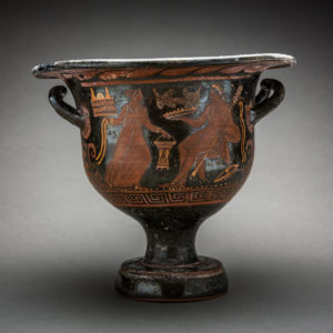 Apulian Red-Figure Bell Krater