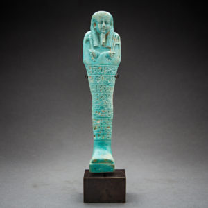Egyptian Ushabti of the 26th Dynasty