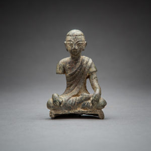 Bronze Seated Buddhist Disciple2