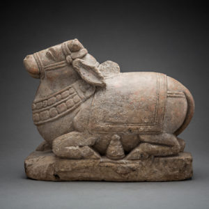 Indian Sculpture of the Bull Nandi2