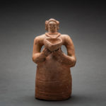 Indus Valley Terracotta Figurine of a Standing Woman4