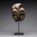 Baule Bicephalous Wooden Mask3