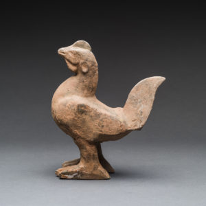 Eastern Han Terracotta Sculpture of a Chicken3
