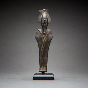 Bronze Sculpture of Osiris