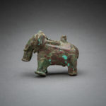 Khmer Bronze Figure of An Elephant3