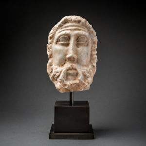 Roman Period Marble Head of Elijah3