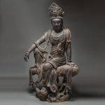 Wooden Sculpture of the Bodhisattva Guanyin