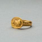 Gold Cameo Ring2