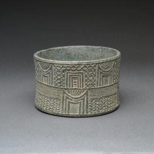 Intercultural Style Chlorite Cylindrical Cup
