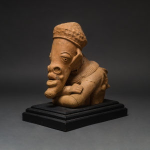 Monumental Nok Terracotta Head and Torso