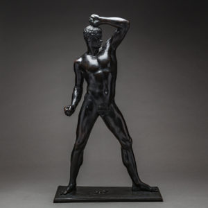 Bronze Sculpture Of An Athlete by Antonio Canova