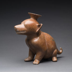 Colima Terracotta Vessel in the Form of a Dog2