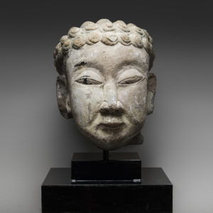 Stone Head of Buddha