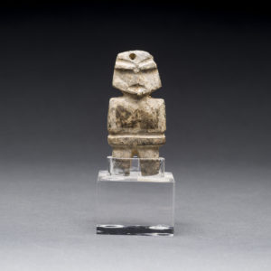 Mezcala Stone Amulet of a Standing Figure