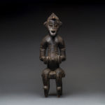 Senufo Sculpture of a Seated Male