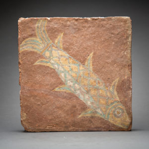 Assyrian Glazed Tile