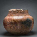 Kushan Painted Terracotta Vessel3