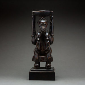 Senufo Diviners Figure in the Form of a Nursing Woman