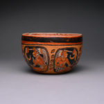 Mayan Orange Terracotta Bowl