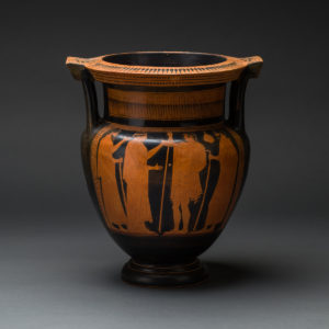 Attic Red-Figured Column Krater Attributed to the Boreas Painter