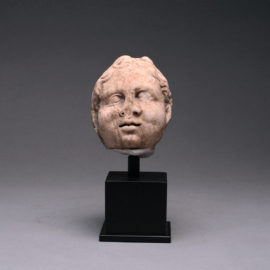 Roman Marble Head of a Child