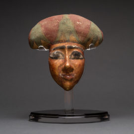 Egyptian Wooden Funerary Mask2