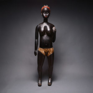 Baulé Standing Female Figure 1