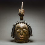 Yoruba Wooden Polychrome Dance Mask 1