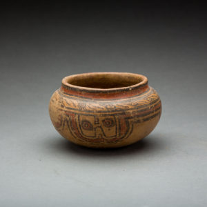 Mayan Painted Terracotta Bowl 1