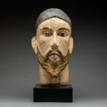 Wooden Head of Christ 1