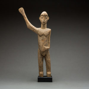 Lobi Sculpture of a Man with Upraised Arm 1