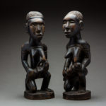 Kongo Pair of Female Figures 1