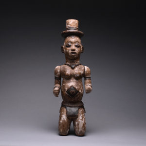 Urhobo Edjo or Ancestor Figure with Articulated Arms 1