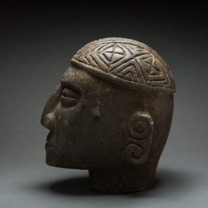 Green Stone Trophy Head 1