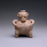 Guanacaste Monkey Effigy Whistle 1