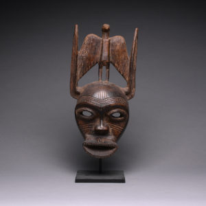 Senufo Wooden Face Mask 1