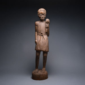 Bambara Wooden Sculpture of Christ 1
