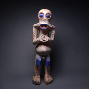 Bangwa Wooden Polychrome Sculpture 1