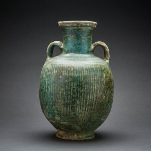 Parthian Glazed Terracotta Jar 1