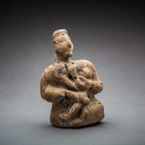 Bactria-Margiana Wooden Maternity Figure 1