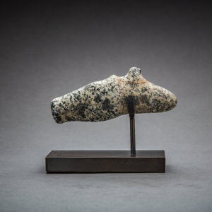 Mesopotamian Stone Head of Horse 1