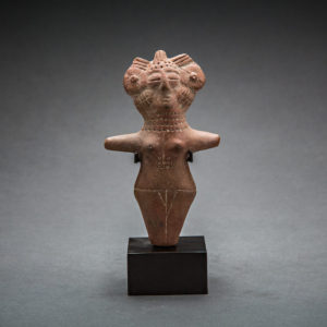 Indus Valley Terracotta Votive Figurine of a Fertility Goddess 1