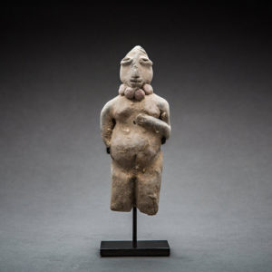 Indus Valley Terracotta Figure of a Fertility Goddess 1