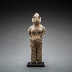 Indus Valley Terracotta Figure of a Male Deity 1