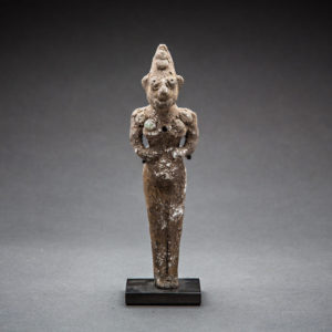 Indus Valley Terracotta Figurine of a Male Deity 1