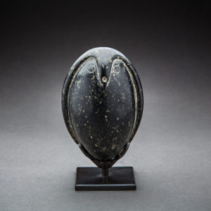 Diorite Figure of a Bird, Possibly an Owl 1
