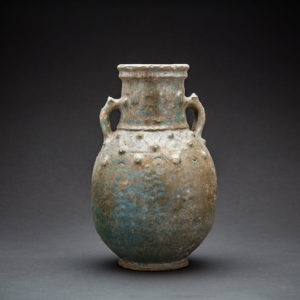 Parthian Light Green Glazed Amphora 1