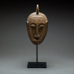 Bambara Wooden Ceremonial Face Mask 1
